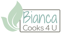 Bianca Cooks 4 U Logo